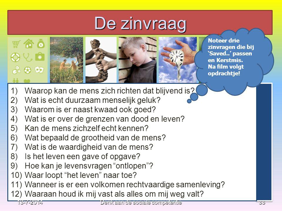 33 1)Waarop kan de mens zich richten dat blijvend is? 2)Wat is echt duurzaam menselijk geluk? 3)Waarom is er naast kwaad ook goed? 4)Wat is er over de