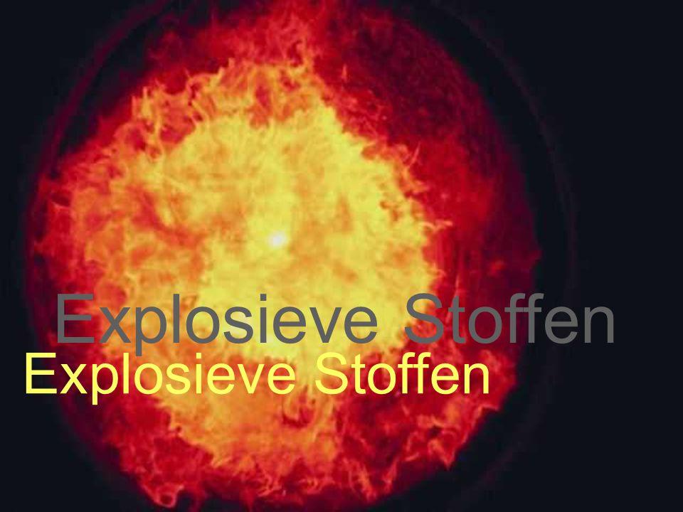 Explosive dust Explosieve Stoffen