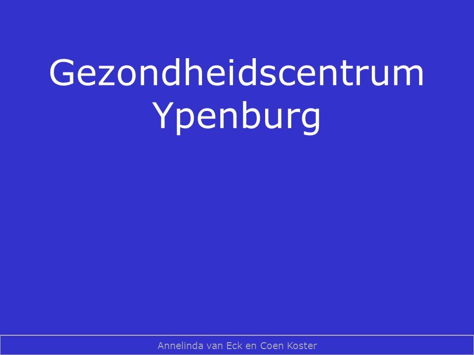 Gezondheidscentrum Ypenburg Annelinda van Eck en Coen Koster