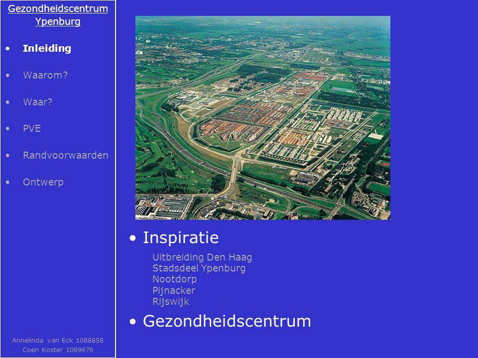 Inspiratie Gezondheidscentrum Ypenburg Inleiding Waarom.
