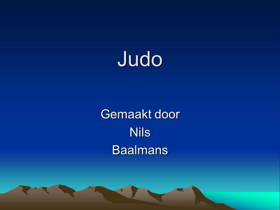 Judo Gemaakt door NilsBaalmans