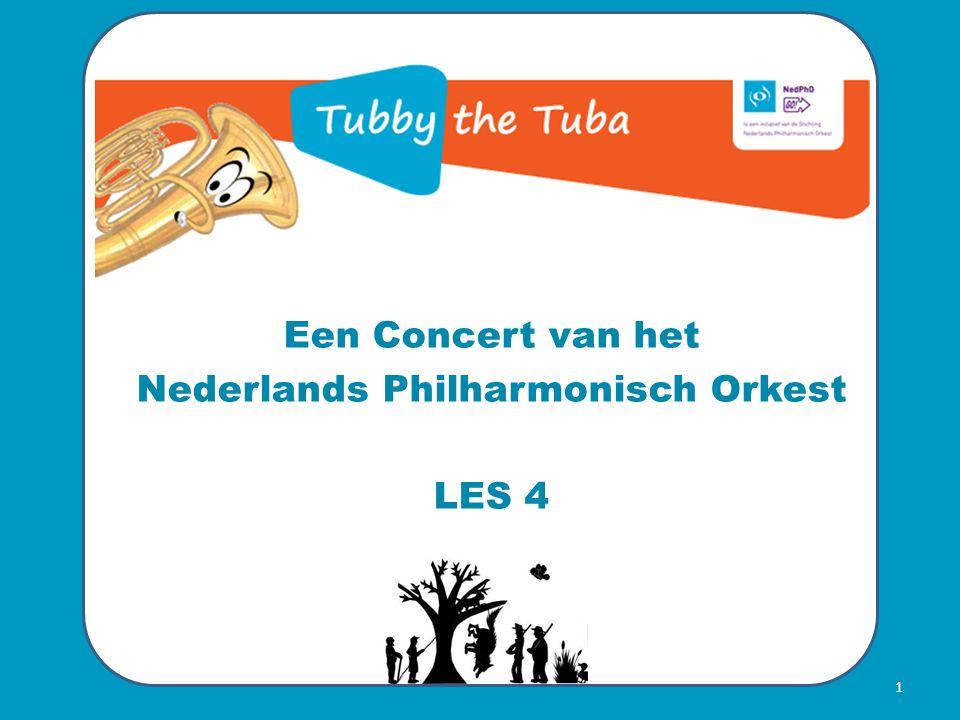 Een Concert van het Nederlands Philharmonisch Orkest LES 4 1
