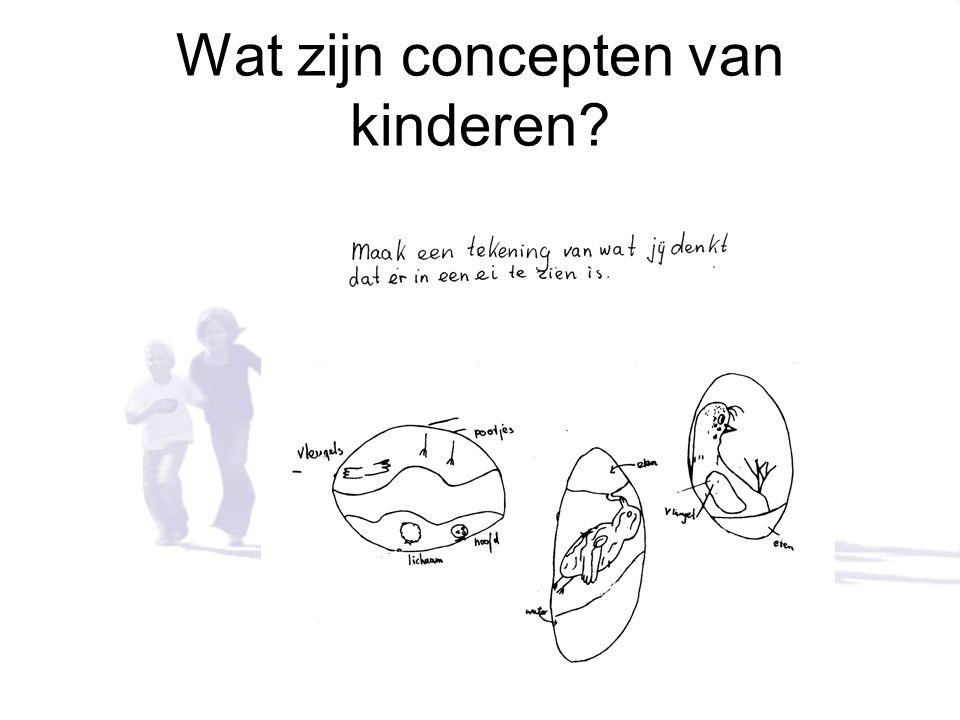 Wat zijn concepten van kinderen?