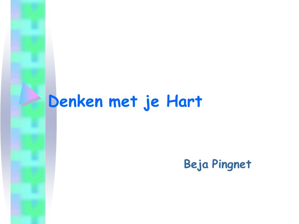 Beja Pingnet 32 Lectuur Daniel Goleman –Emotionele Intelligentie Jeanne Segal –Werkboek Emotionele Intelligentie Dr.