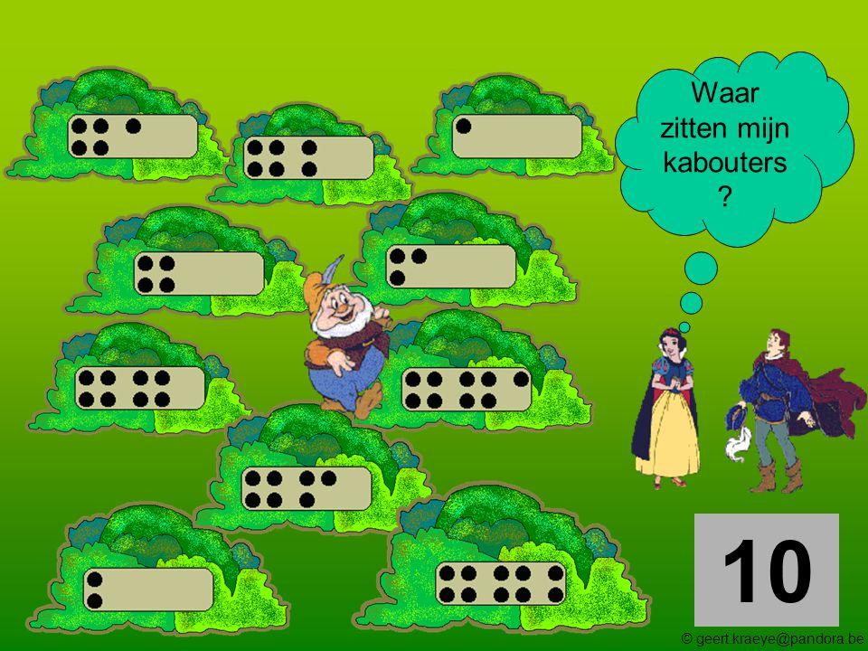 10 Waar zitten mijn kabouters ? © geert.kraeye@pandora.be