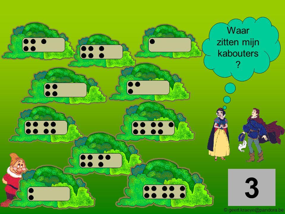 4 Waar zitten mijn kabouters ? © geert.kraeye@pandora.be