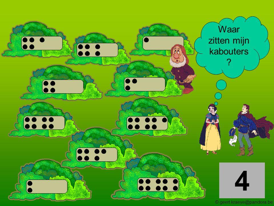 5 Waar zitten mijn kabouters ? © geert.kraeye@pandora.be
