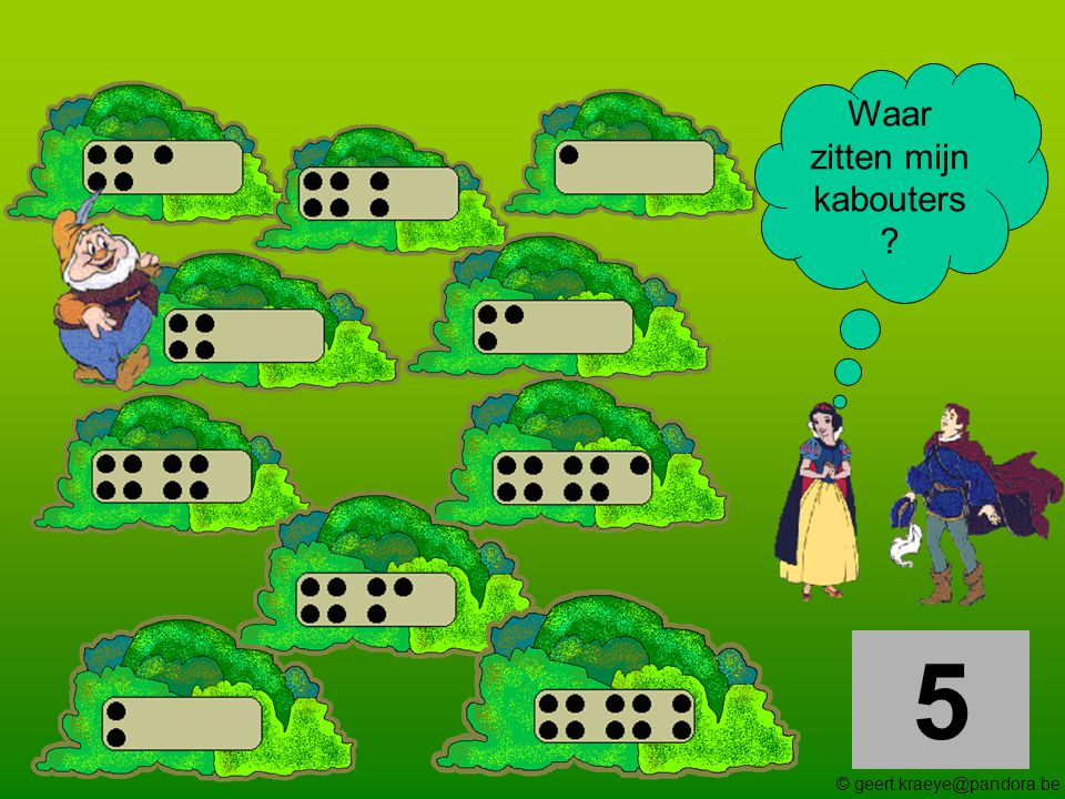 6 Waar zitten mijn kabouters ? © geert.kraeye@pandora.be