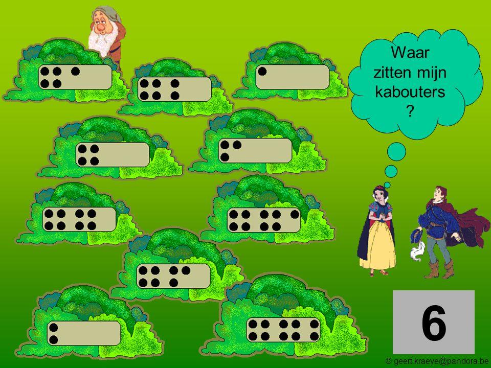 7 Waar zitten mijn kabouters ? © geert.kraeye@pandora.be