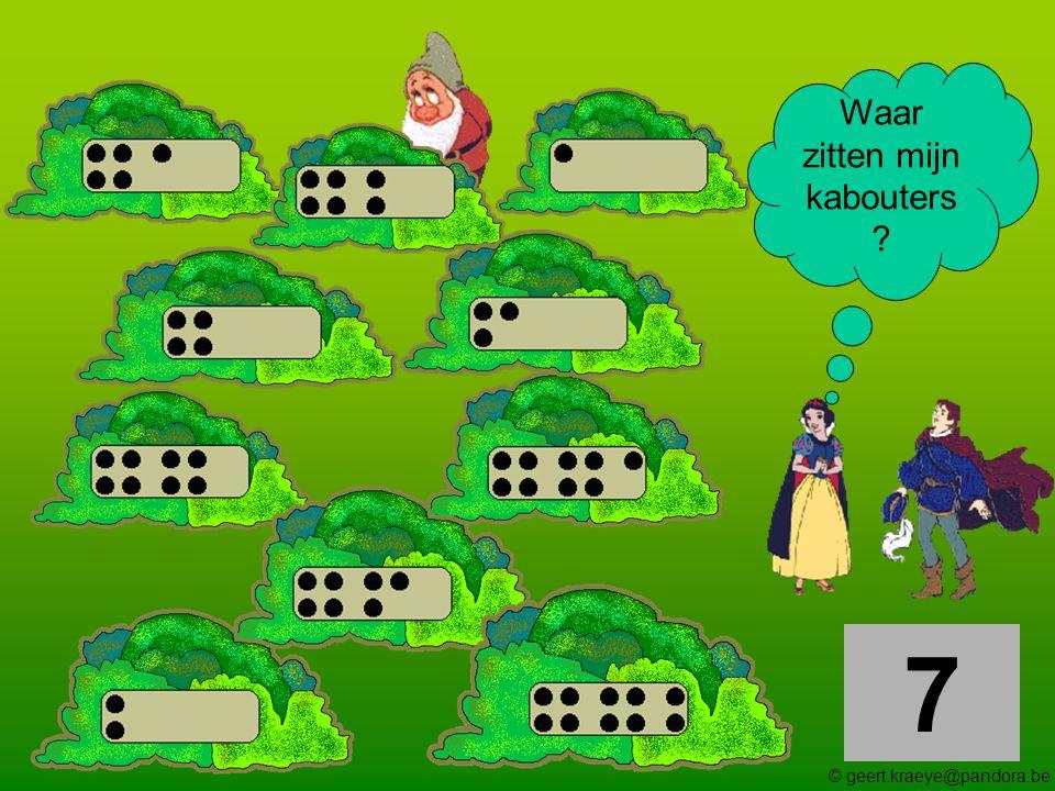 8 Waar zitten mijn kabouters ? © geert.kraeye@pandora.be