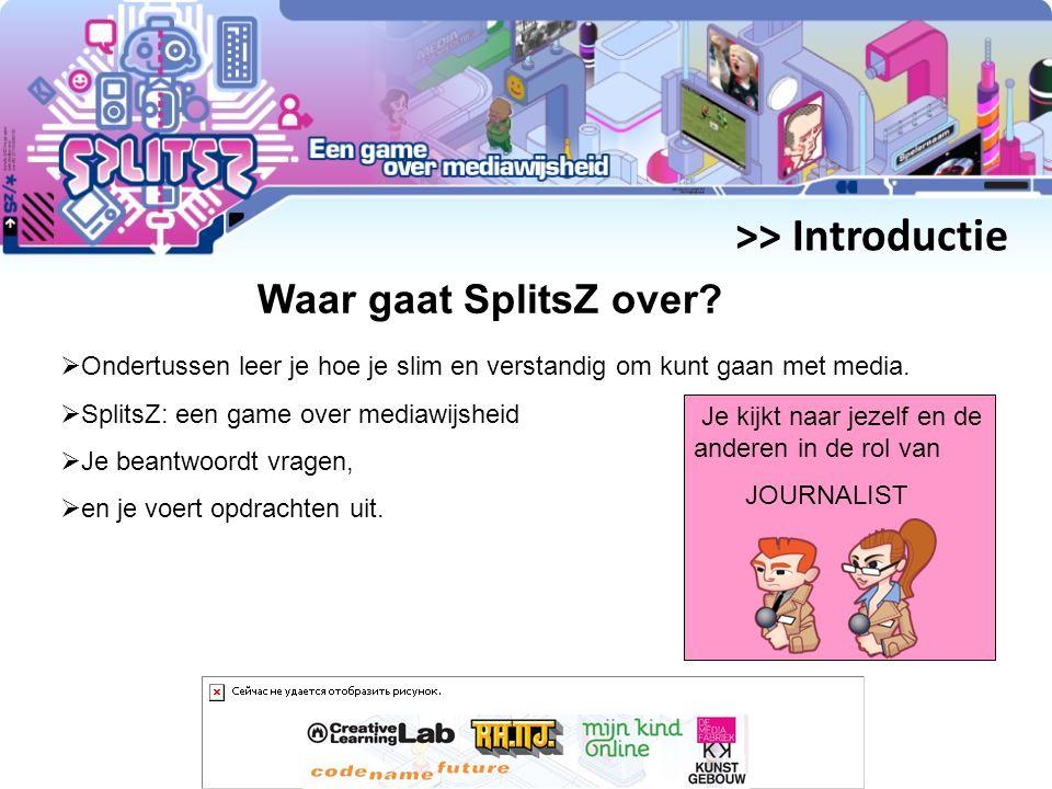 >> Introductie Waar gaat SplitsZ over.
