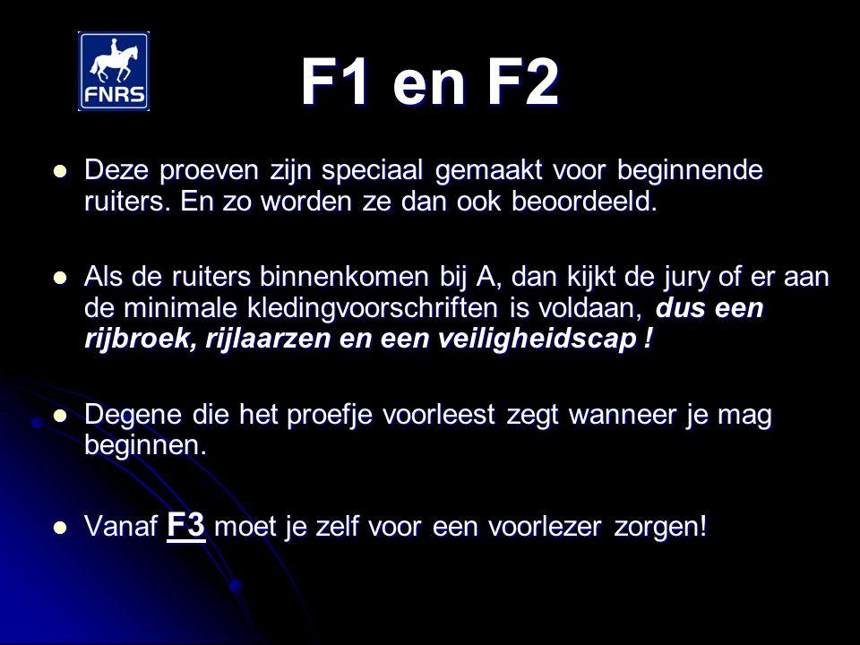 F1 en F2 De oefeningen zijn nog niet zo heel moeilijk.