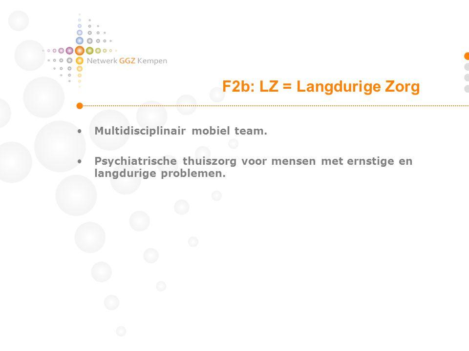 Multidisciplinair mobiel team.