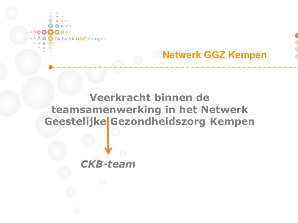 Veerkracht binnen de teamsamenwerking in het Netwerk Geestelijke Gezondheidszorg Kempen CKB-team Netwerk GGZ Kempen