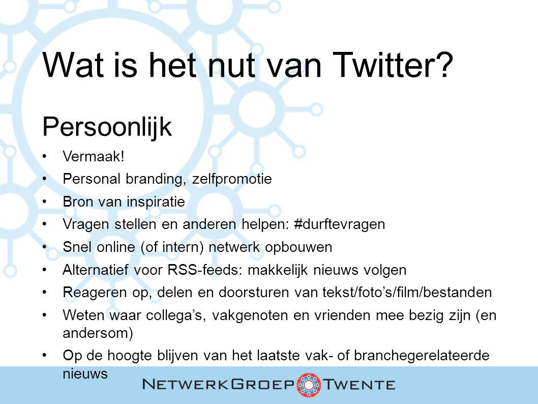 Aan de slag met Twitter.Stap 3. 3. Haal meer uit je tweets URL's toevoegen.