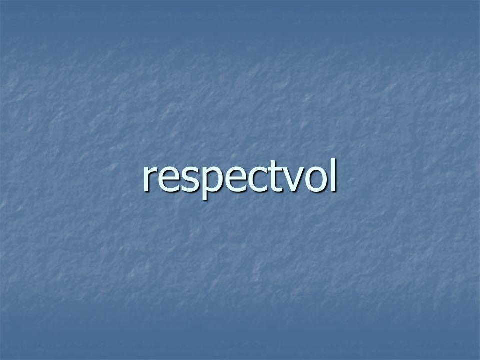respectvol