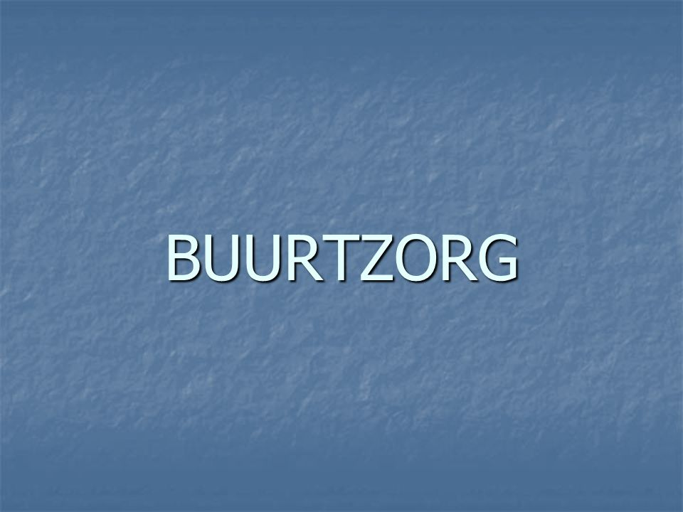 BUURTZORG
