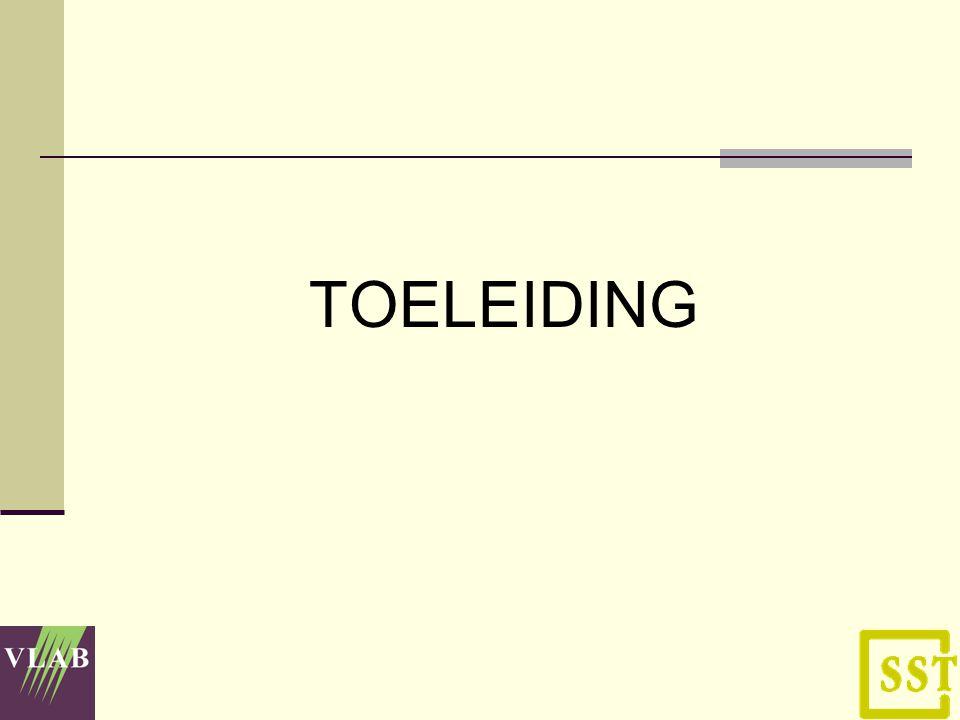 TOELEIDING