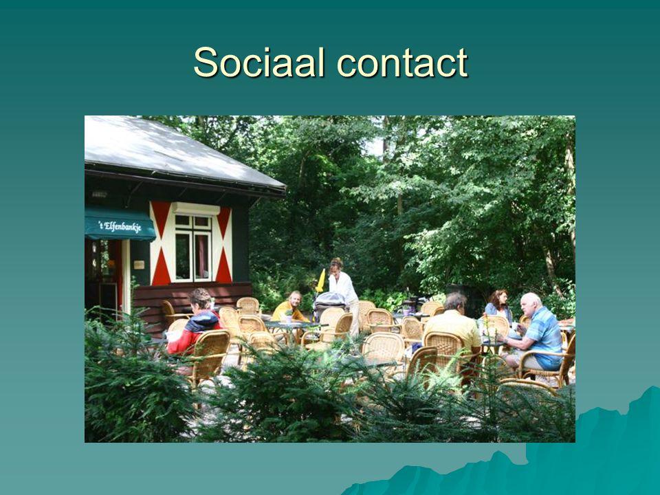 Sociaal contact
