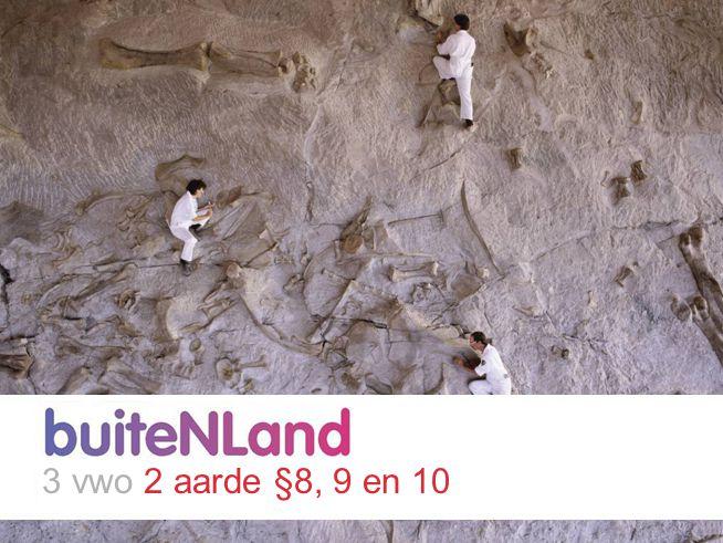 Op de meeste plaatsen in Nederland ligt zand, klei of moerassige veengrond aan de oppervlakte: losse sedimenten.