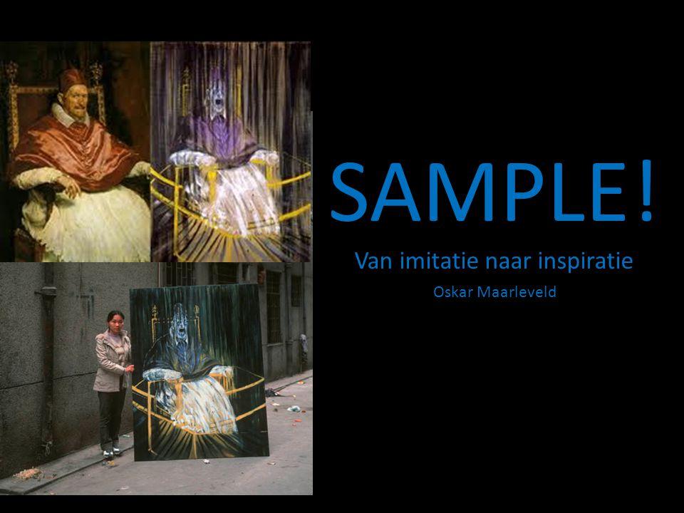 SAMPLE! Van imitatie naar inspiratie Oskar Maarleveld