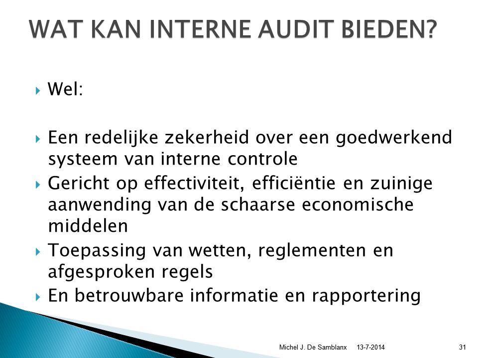  Geen garantie dat alles goed zal verlopen  Geen garantie dat er niets fout gaat lopen  Geen garantie tegen fraude 13-7-2014Michel J.