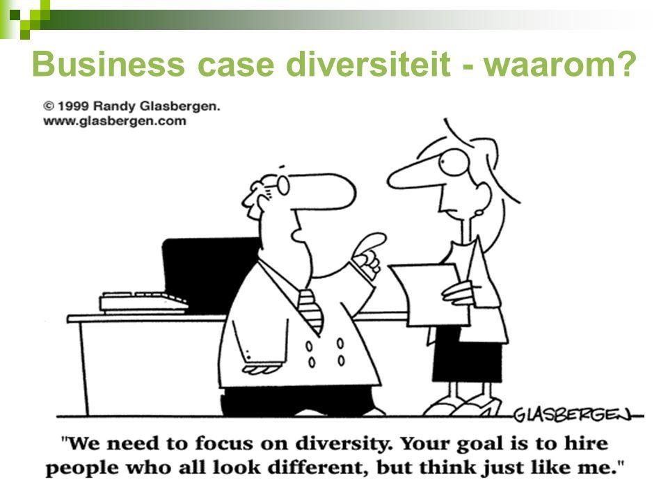 Business case diversiteit - waarom