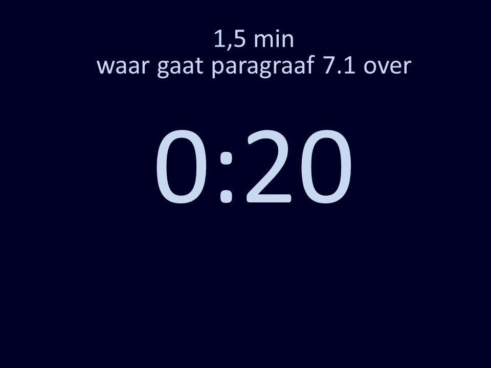 1,5 min waar gaat paragraaf 7.1 over 0:20