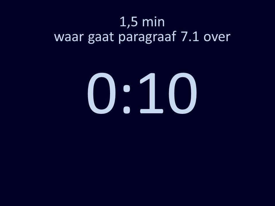 1,5 min waar gaat paragraaf 7.1 over 0:10