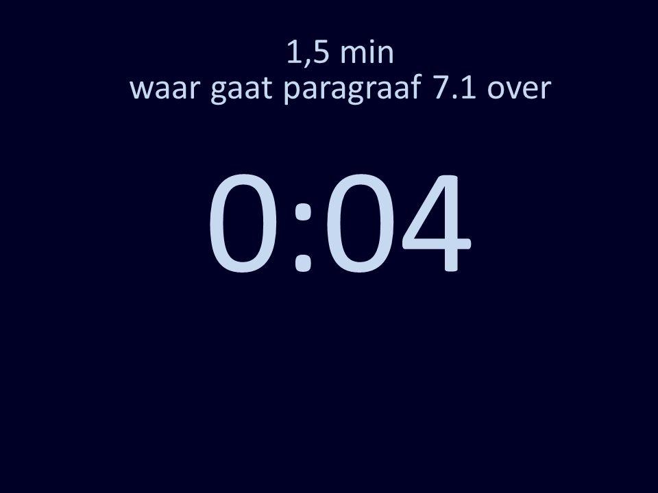 1,5 min waar gaat paragraaf 7.1 over 0:04