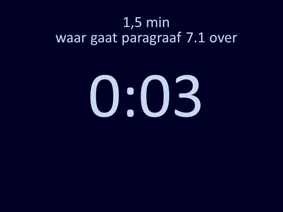 1,5 min waar gaat paragraaf 7.1 over 0:03