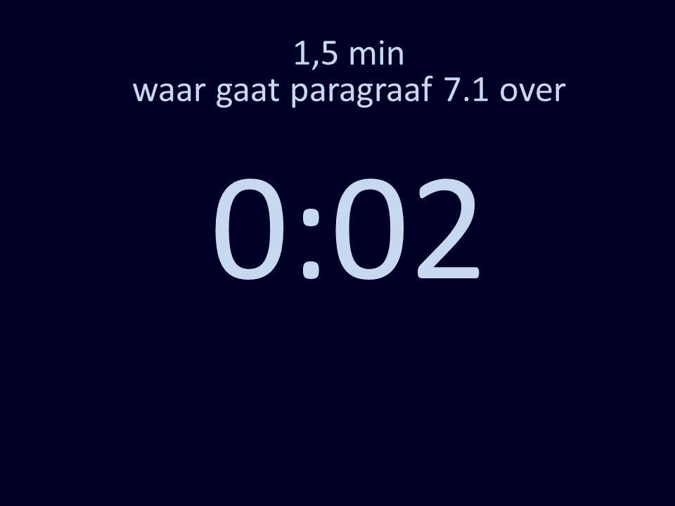 1,5 min waar gaat paragraaf 7.1 over 0:02
