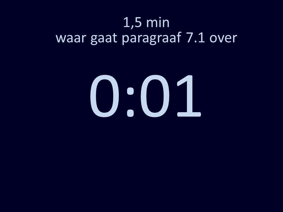 1,5 min waar gaat paragraaf 7.1 over 0:01