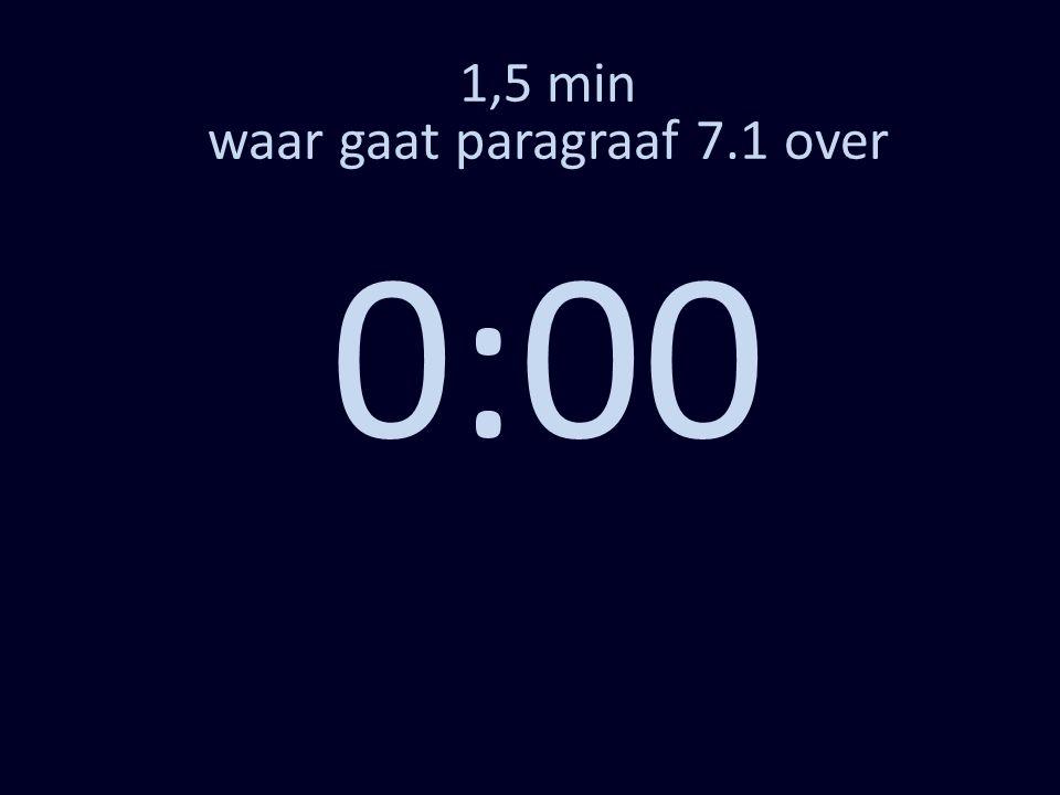 1,5 min waar gaat paragraaf 7.1 over 0:00