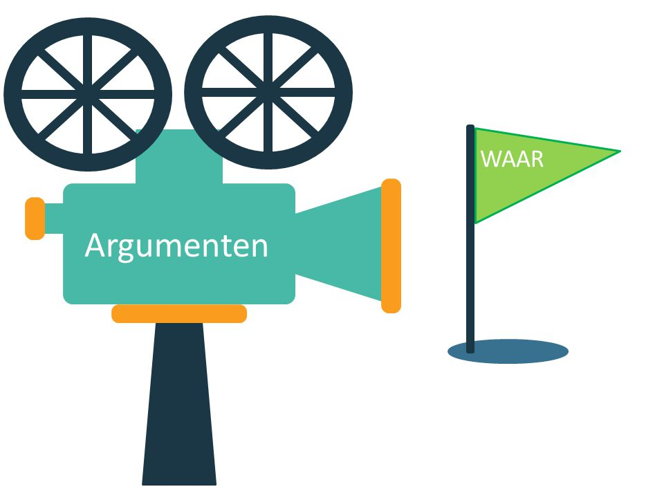Argumenten WAAR
