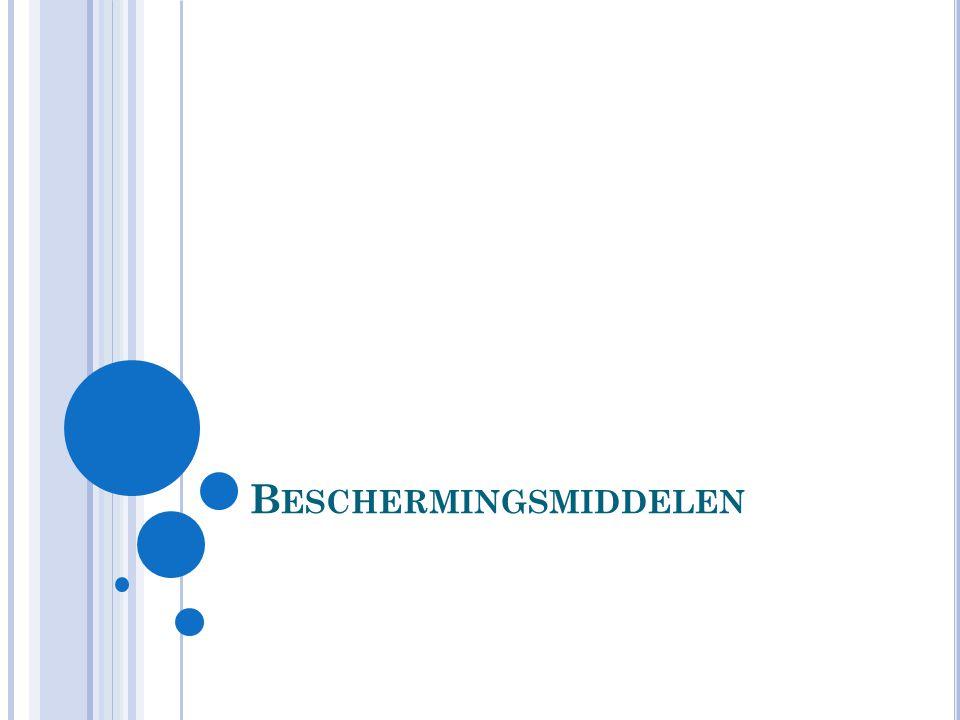 B ESCHERMINGSMIDDELEN