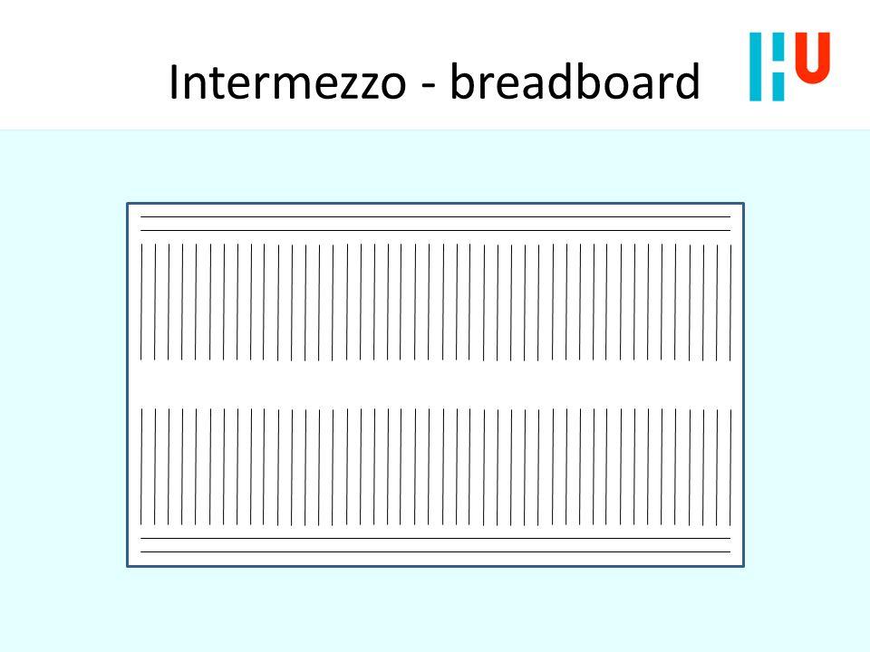 Intermezzo - breadboard