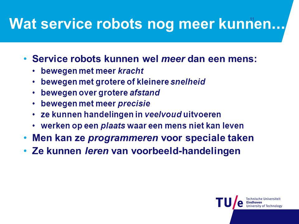 11 Wat service robots nog meer kunnen...