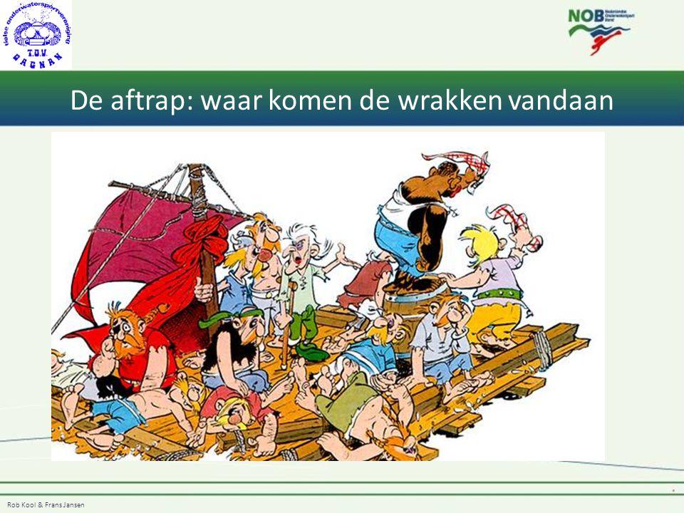 Rob Kool & Frans Jansen De aftrap: waar komen de wrakken vandaan