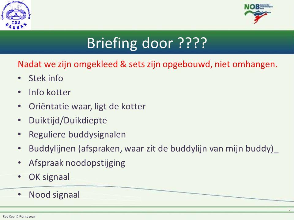 Rob Kool & Frans Jansen Lijnen Om veilig het wrak te kunnen opmeten, moet er een gidslijn komen.