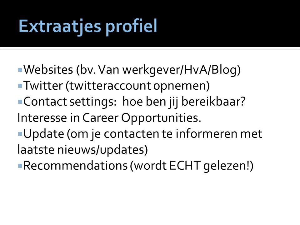  Websites (bv.
