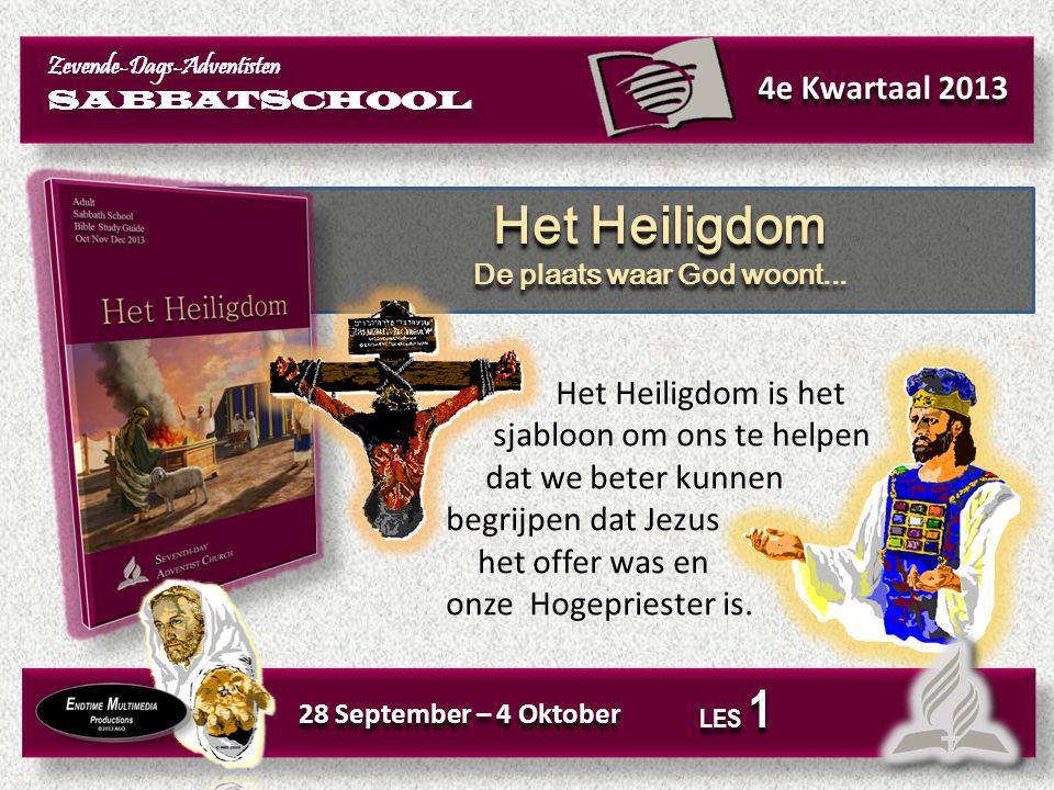 Het Hemels Heiligdom Waar woont God? Het Hemels Heiligdom Waar woont God? Kerntekst: Luister dan vanuit de hemel, uw woonplaats, naar hun bidden en smeken en verschaf hun recht. (1 Koningen 8:49, NBV).