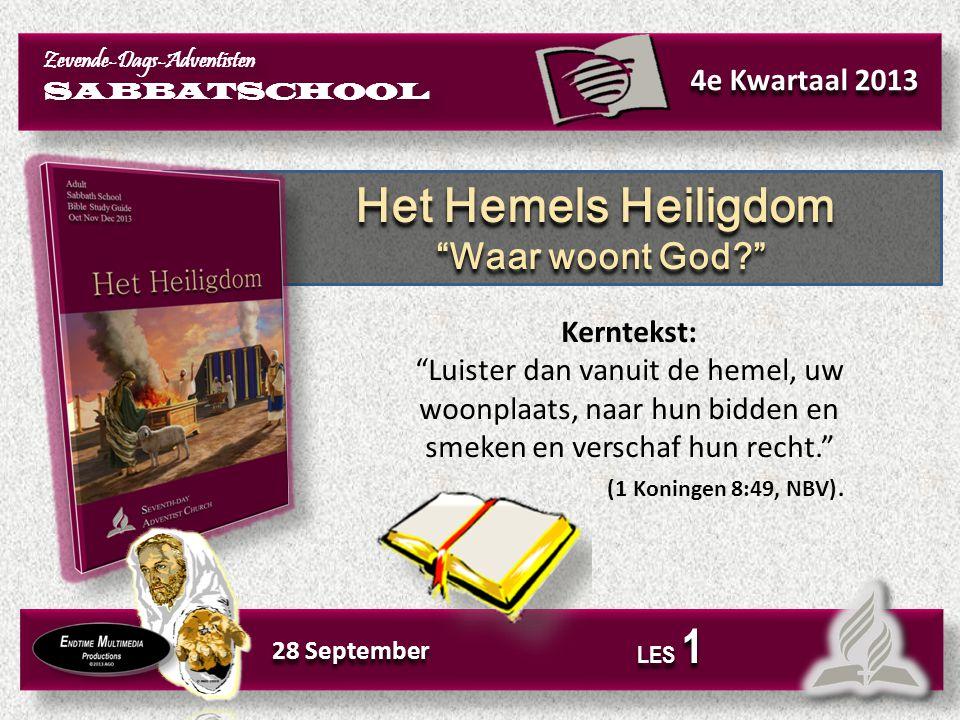 Vaak zeggen we: God is overal. De Bijbel staat vol met uitspraken over Gods Hemelse woonplaats.