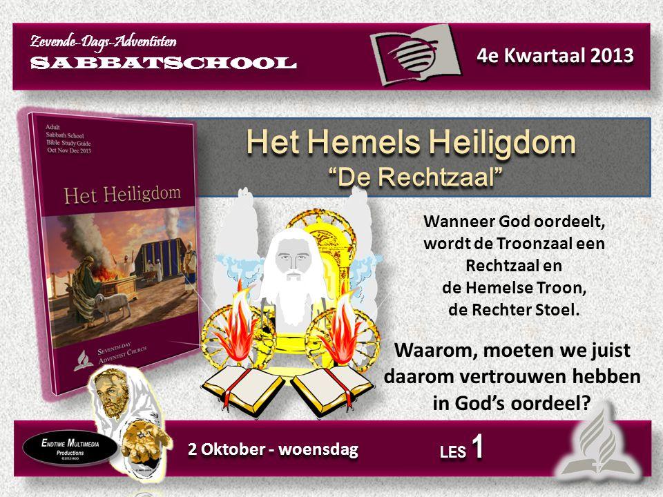 Het Hemels Heiligdom De plaats van Redding Het Hemels Heiligdom De plaats van Redding Het boek Hebreeën leert ons dat Christus voor ons werkzaam is, in het Hemels Heiligdom, als onze Hogepriester.