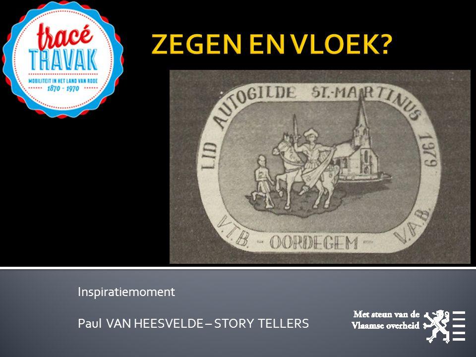 Inspiratiemoment Paul VAN HEESVELDE – STORY TELLERS