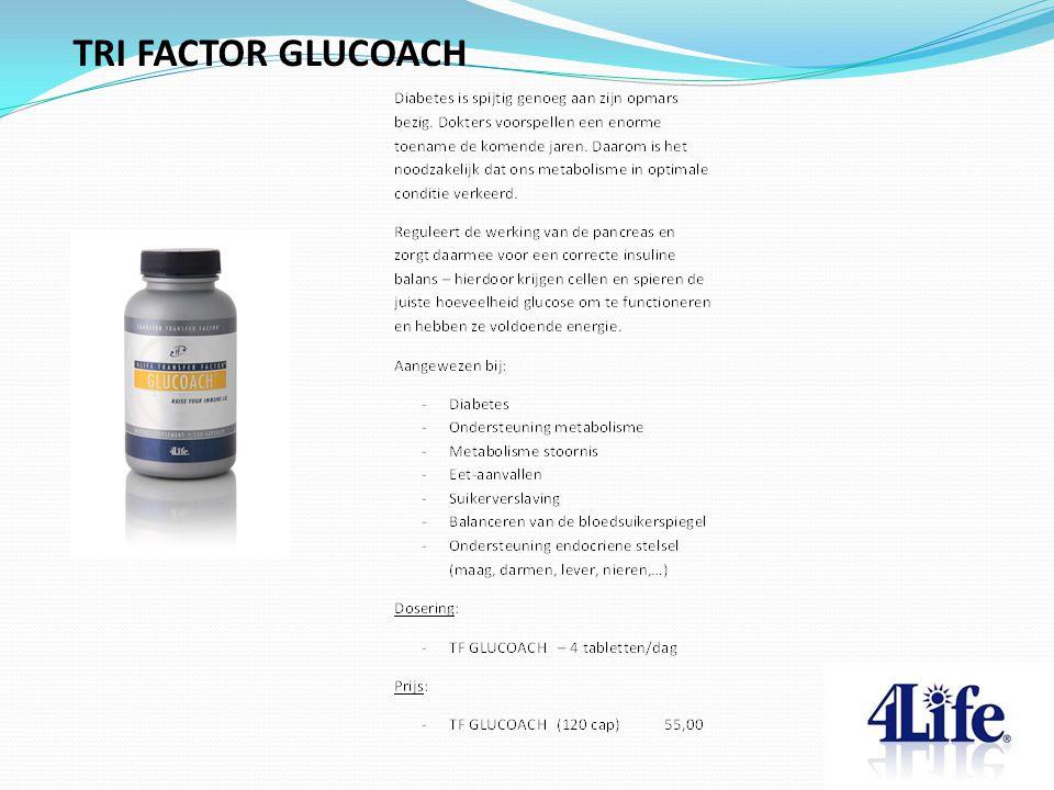 TRI FACTOR GLUCOACH