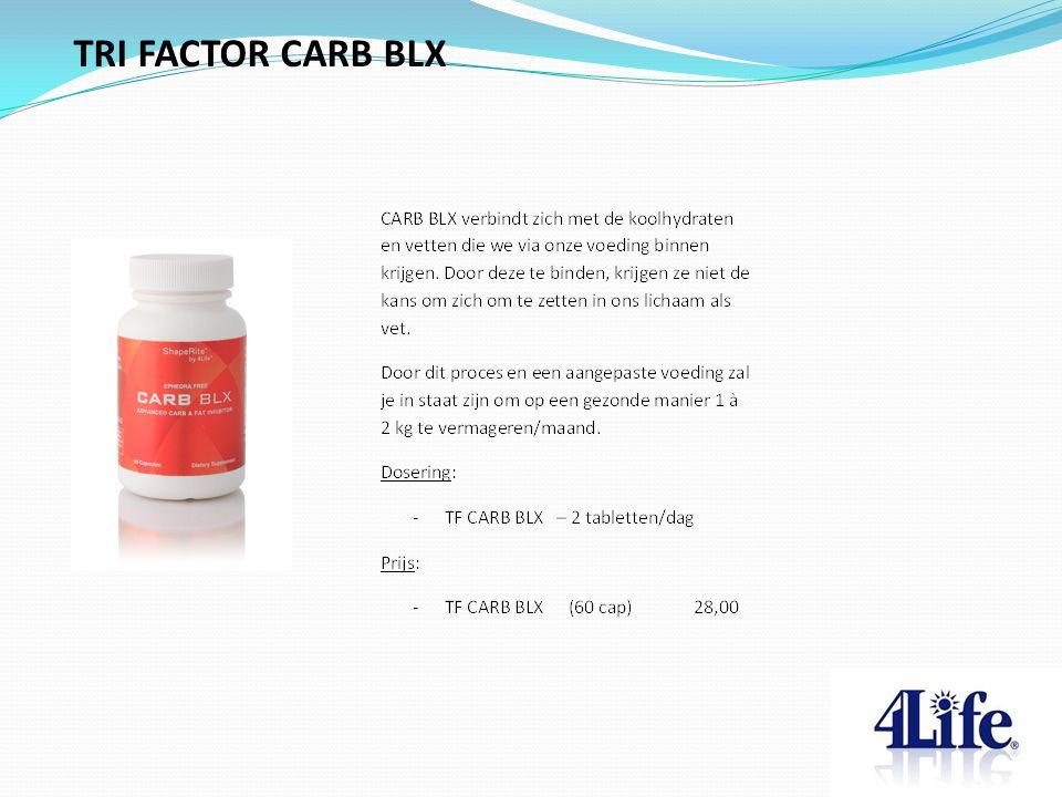 TRI FACTOR CARB BLX
