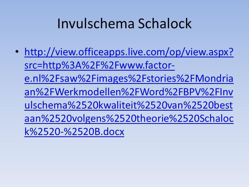 Invulschema Schalock http://view.officeapps.live.com/op/view.aspx? src=http%3A%2F%2Fwww.factor- e.nl%2Fsaw%2Fimages%2Fstories%2FMondria an%2FWerkmodel
