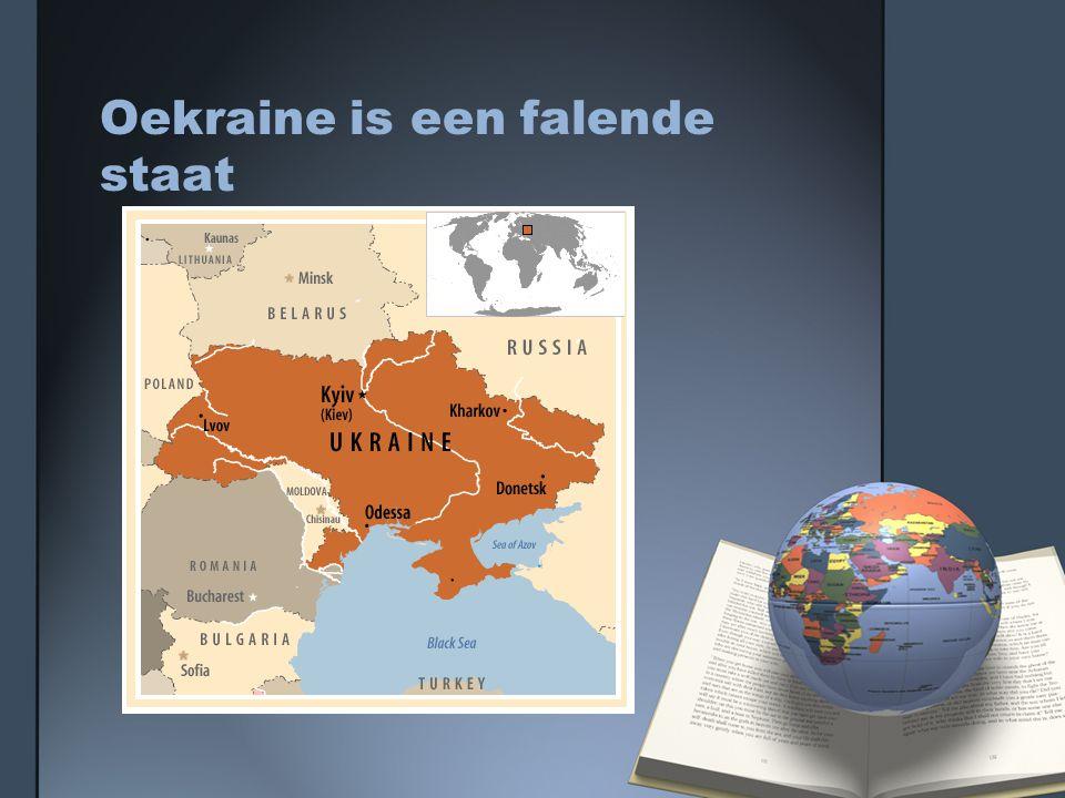 Oekraine is een falende staat