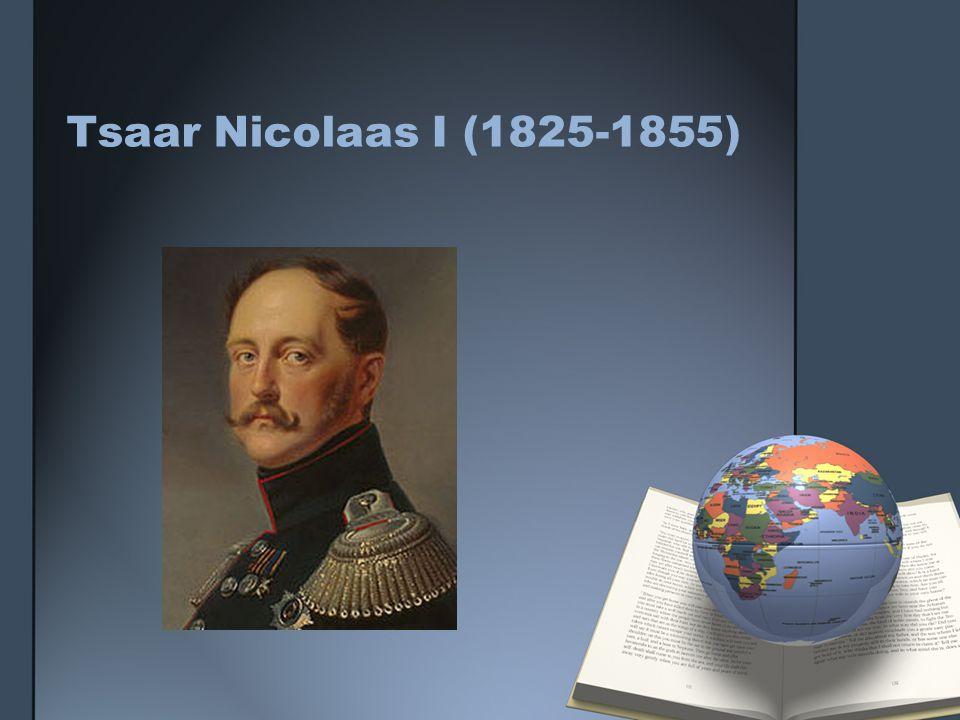 Tsaar Nicolaas I (1825-1855)